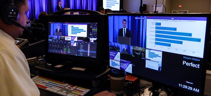 Ζωντανή μετάδοση - live streaming – webcasting